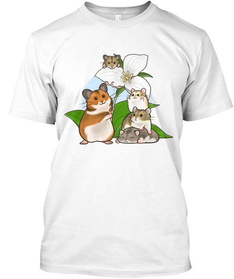 Ontario Hamster Club White T-Shirt Front