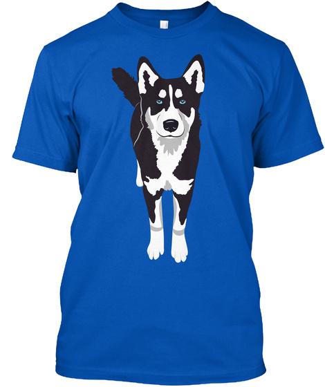 Siberian Husky Royal T-Shirt Front