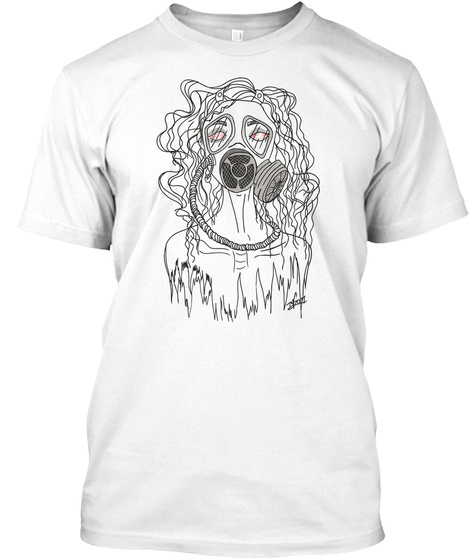 Unruly   Light Colors White T-Shirt Front