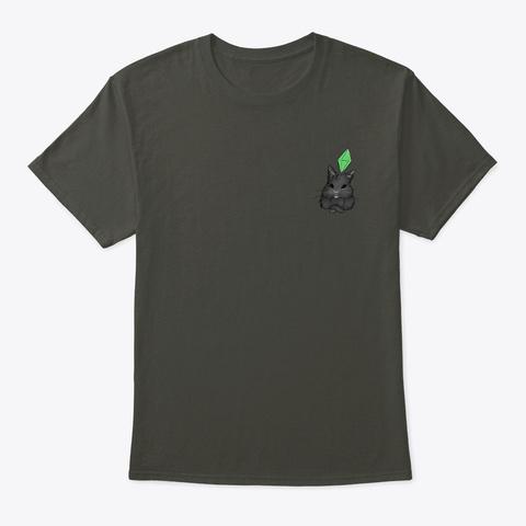 Wednesday Bunny Plumbob Smoke Gray T-Shirt Front