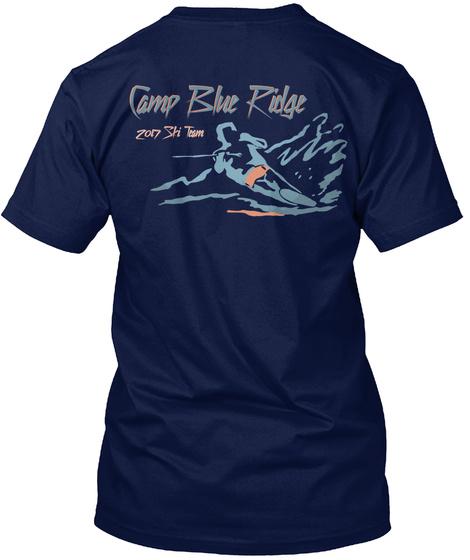 Camp Blue Ridge 2017 Navy T-Shirt Back