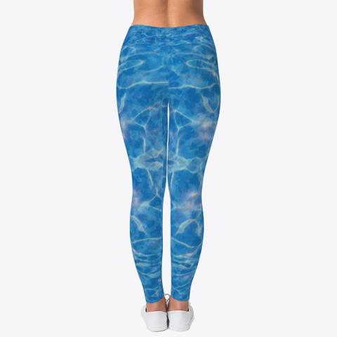 Water Camo Leggings Standard T-Shirt Back