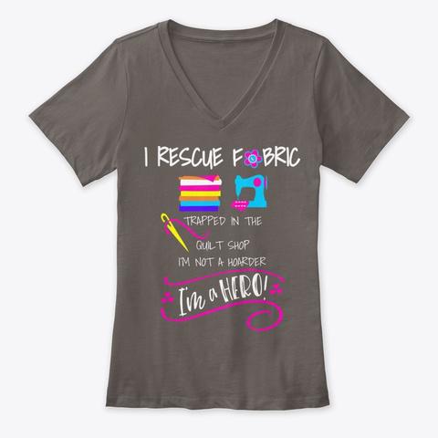 Betty Lop Designer Sewing Machine Needles Asphalt T-Shirt Front