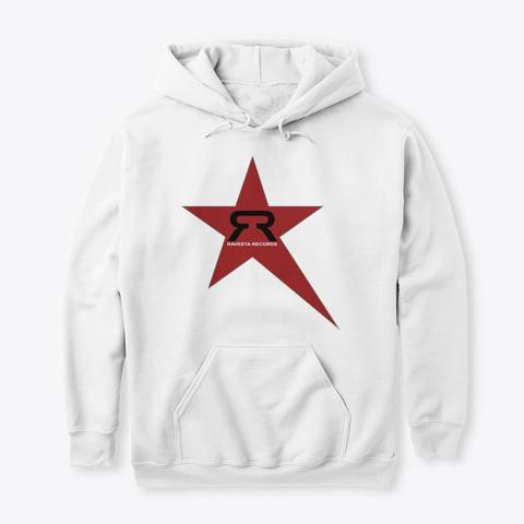 Ravesta Records Star Breaks White T-Shirt Front