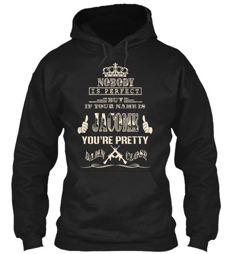 Jacome Black T-Shirt Front