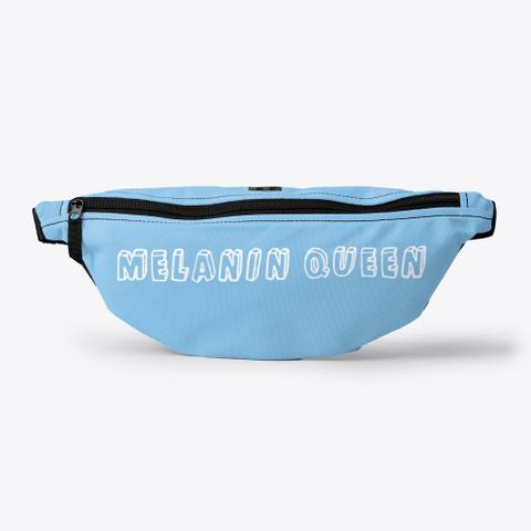 M&J Melanin Queen Light Blue T-Shirt Front