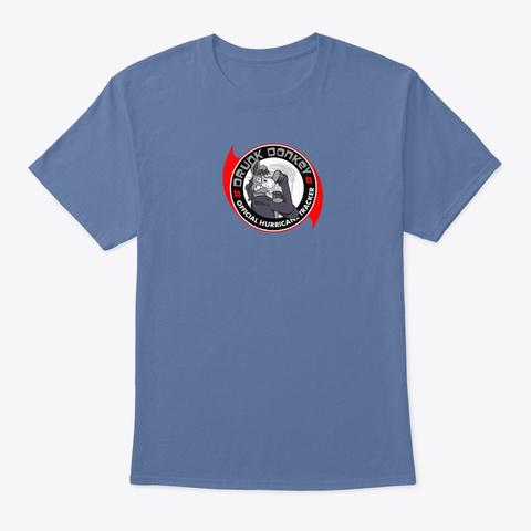 2019 Hurricane Season Denim Blue T-Shirt Front
