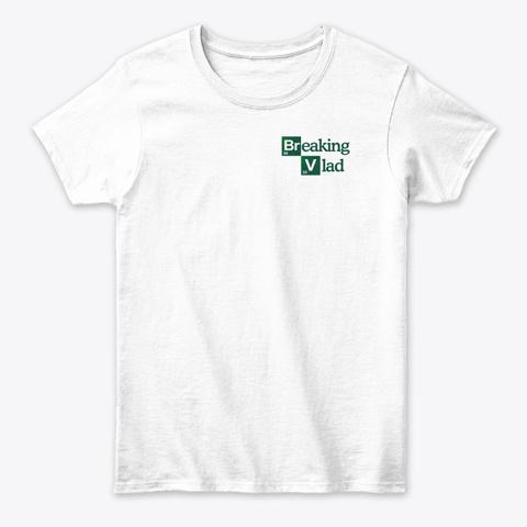 Camiseta Blanca Con Logo White T-Shirt Front