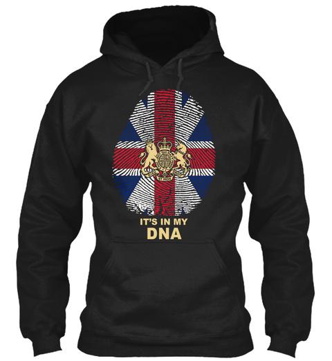It S In My Dna Black Sweatshirt Front