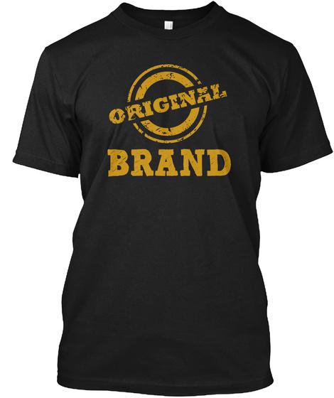 Brand Black T-Shirt Front