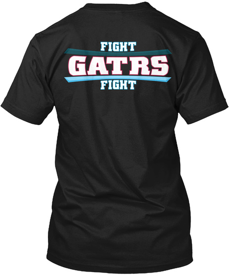 Fight Gatrs Fight Black Kaos Back