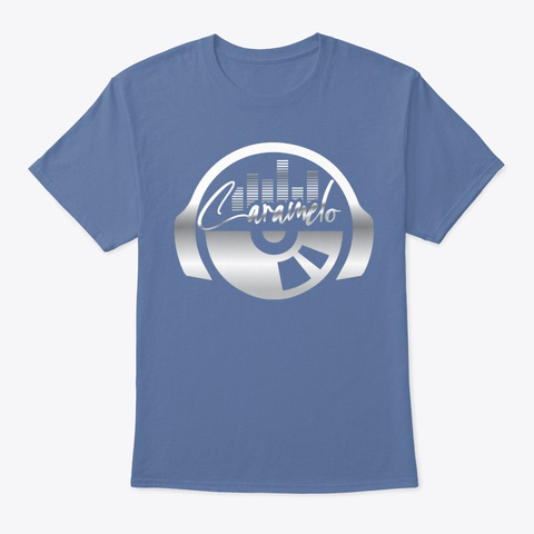 Caramelo's Freestyle Gear Denim Blue Camiseta Front