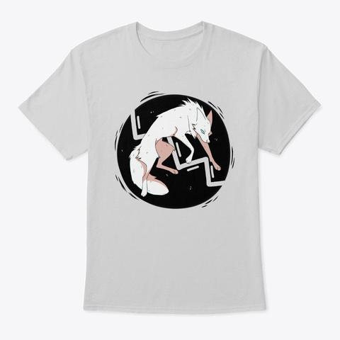 White Static Light Steel T-Shirt Front