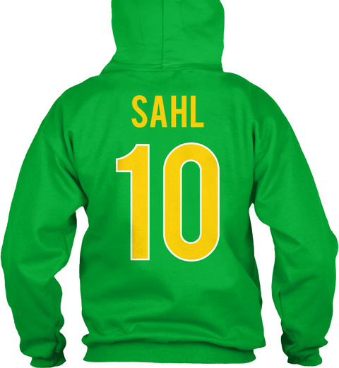 Sahl 10 Kelly Green T-Shirt Back