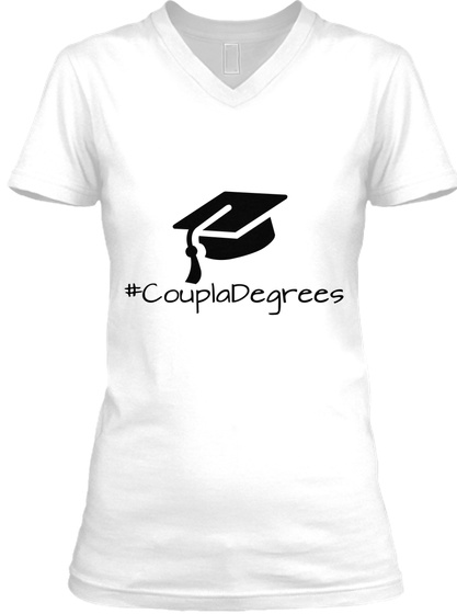 #Coupladegrees White T-Shirt Front