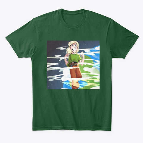 The Real Slim Shaggy  Forest Green  T-Shirt Front