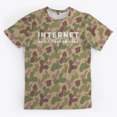 Internet Music Transmitter Standard T-Shirt Front