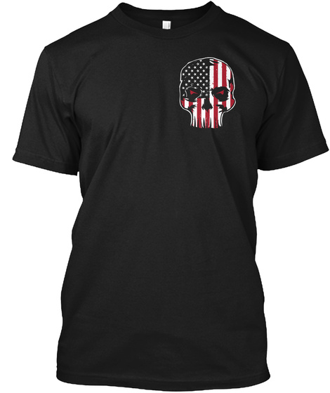 Patriotic   Approval Not Required 0008 Black T-Shirt Front