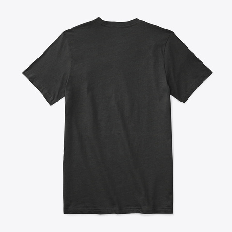 How Expert Premium V Neck T Shirt Black T-Shirt Back