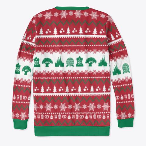 Parks Ugly Sweater Standard T-Shirt Back
