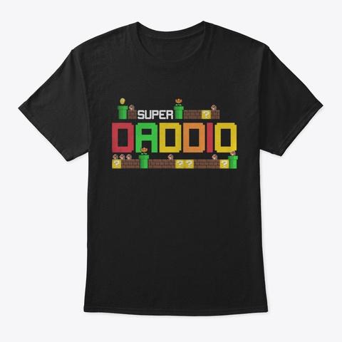 Mhi Daddio Black T-Shirt Front