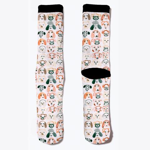 Cheap Dog Lover Socks  Standard Camiseta Front