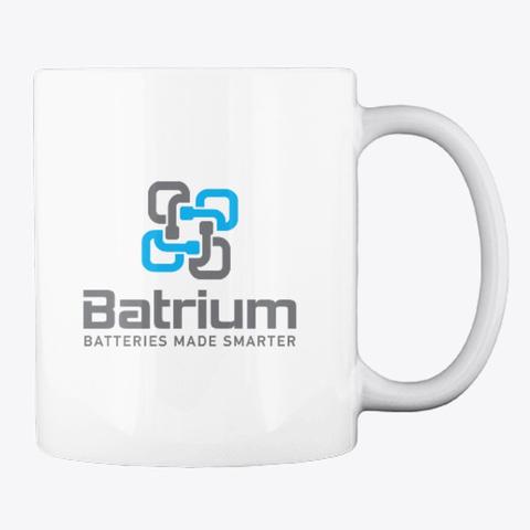 Batrium Coffee Mug White T-Shirt Back