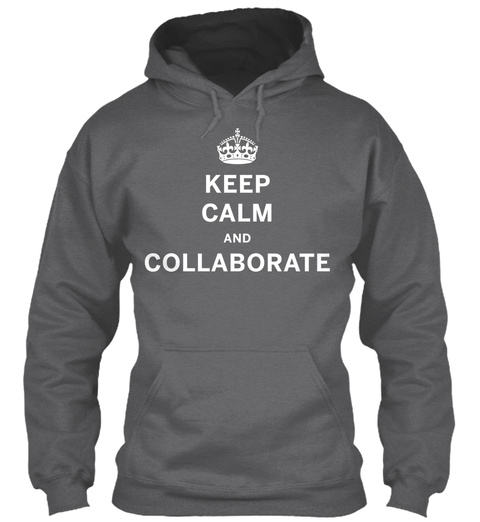 Som Kc Collaborate Hoodie Dark Heather Sweatshirt Front