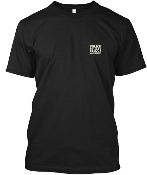 K9 Jethro Memorial T Shirt  Black T-Shirt Front