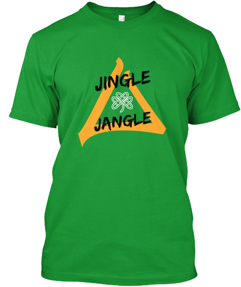 Jingle Jangle Kelly Green T-Shirt Front