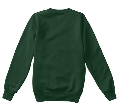 Lovely Christmas Kid's Sweatshirt  Deep Forest  T-Shirt Back