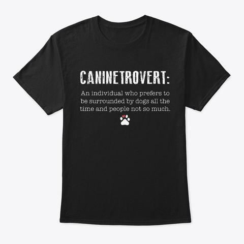 Dog1013 Black T-Shirt Front