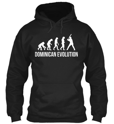 Dominican Evolution Black Sweatshirt Front