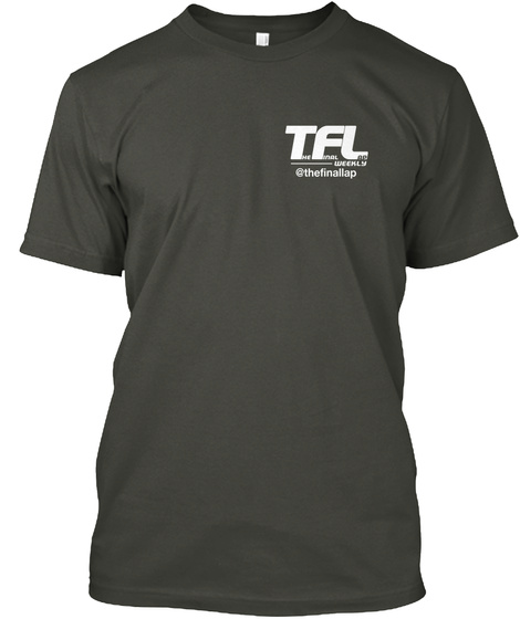 Tfl The Fin Lap Weekly Thefinallap Smoke Gray T-Shirt Front