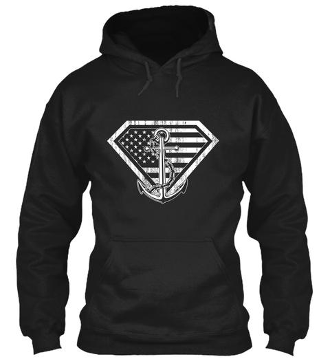 Exclusive Ltd   Super Sailor Black T-Shirt Front