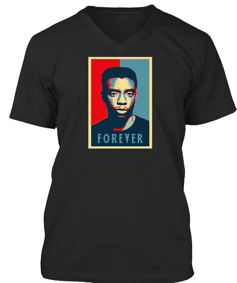 Sam Swag: Panther Forever Black T-Shirt Front