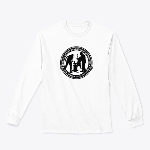 Faba Conference 2020 Unisex Long Sleeve White T-Shirt Front