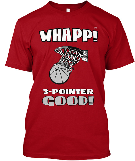 Tm Deep Red T-Shirt Front