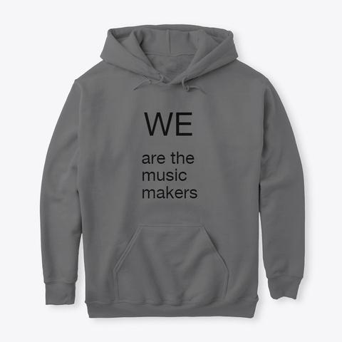 Music Makers Dark Heather T-Shirt Front