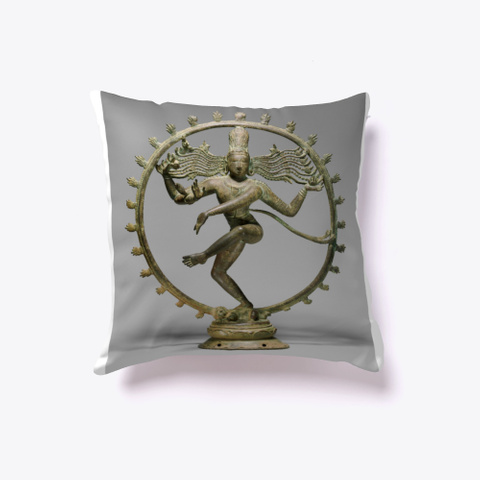 Shiva As Lord Of The Dance (Nataraja)  White T-Shirt Front