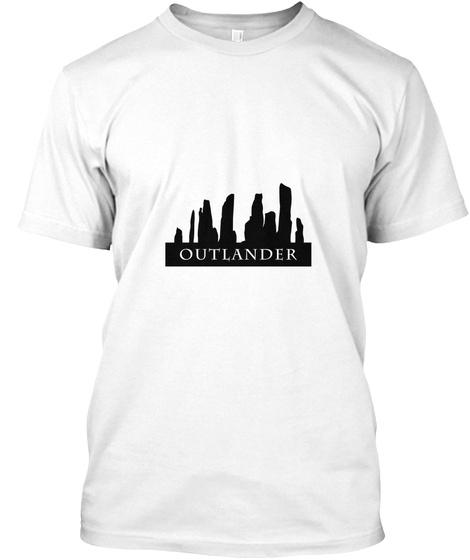 Cait's Caraids White T-Shirt Front
