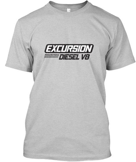 Excursion Diesel Vb Light Steel T-Shirt Front