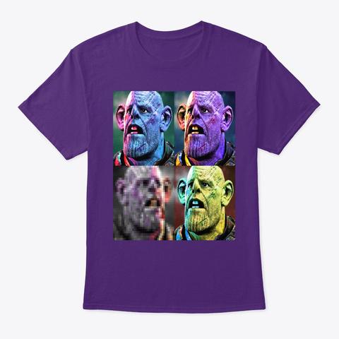 The Thonosrat Purple T-Shirt Front