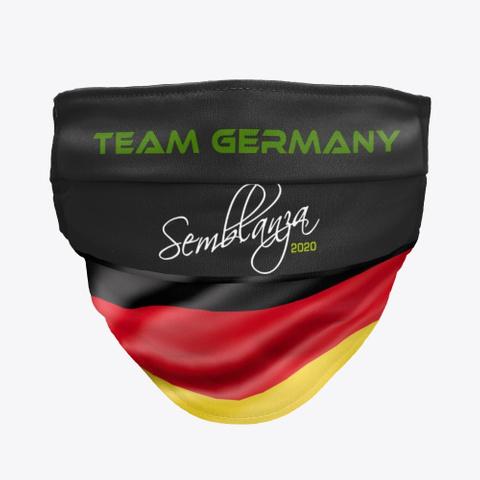 Team Germany! Black T-Shirt Front