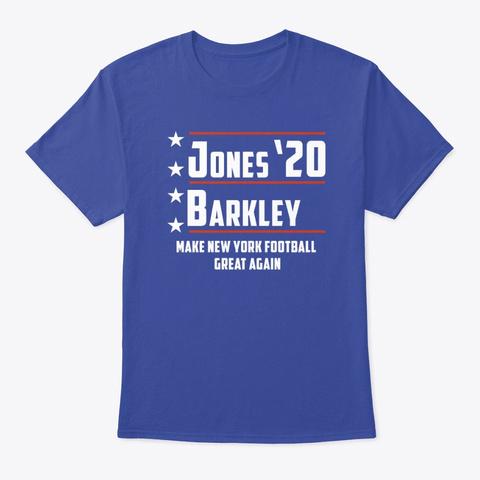 Jones And Barkley 4 President Deep Royal T-Shirt Front