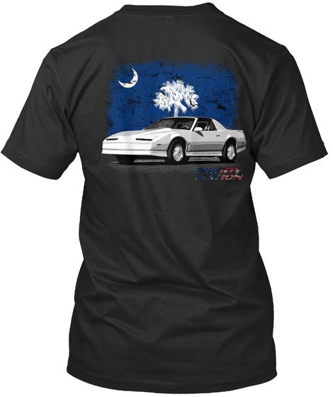 Fbody Nation South Carolina 3rd Gen 2 Black T-Shirt Back