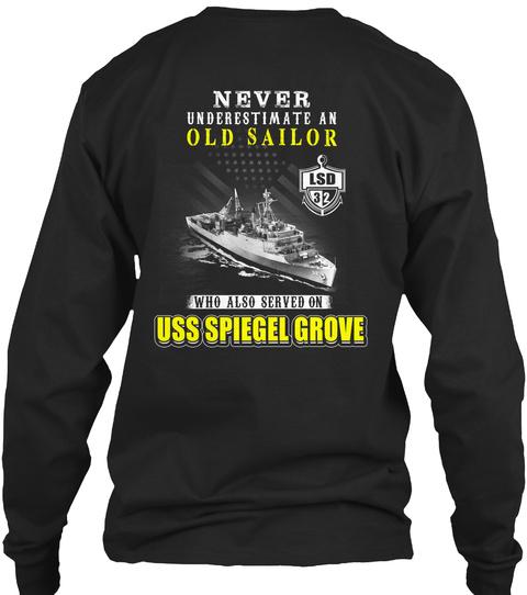 USS spiegel grove lsd-32 old sailor SweatShirt