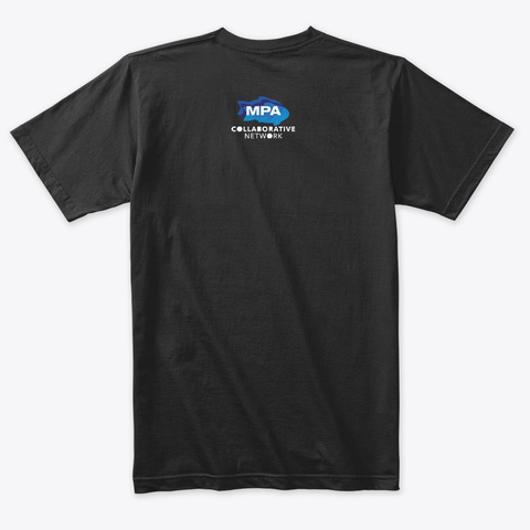 Critters Collects Lobito Inthedark Vintage Black T-Shirt Back