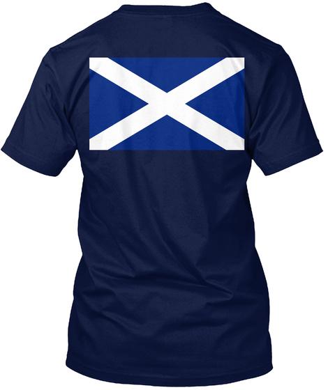 Clan Boyle Navy T-Shirt Back