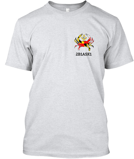 2 B1 Ask1 Ash T-Shirt Front